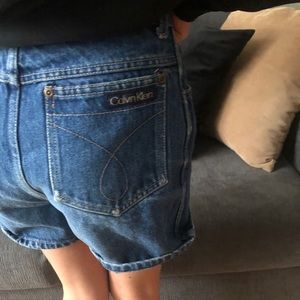 Girl's Vintage Calvin Klein Shorts